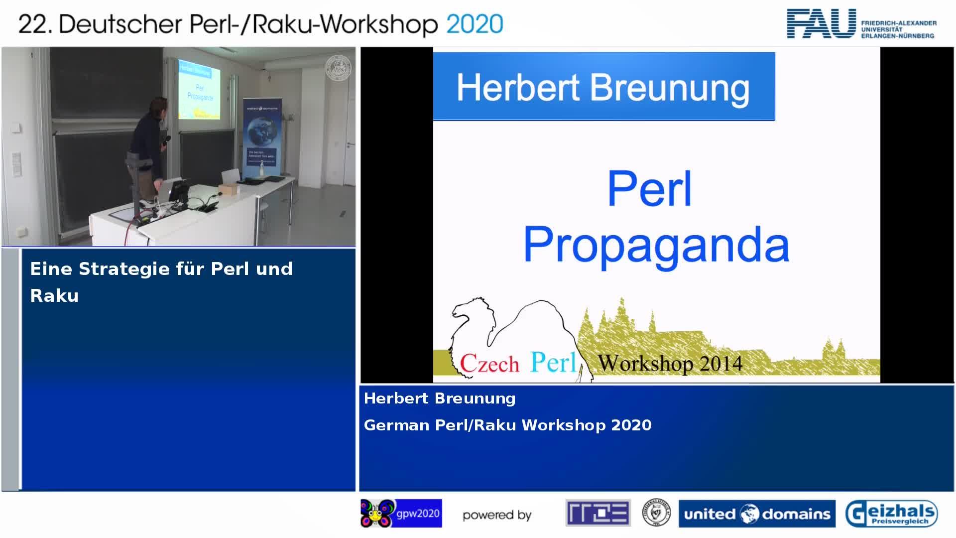 Eine Strategie für Perl und Raku preview image