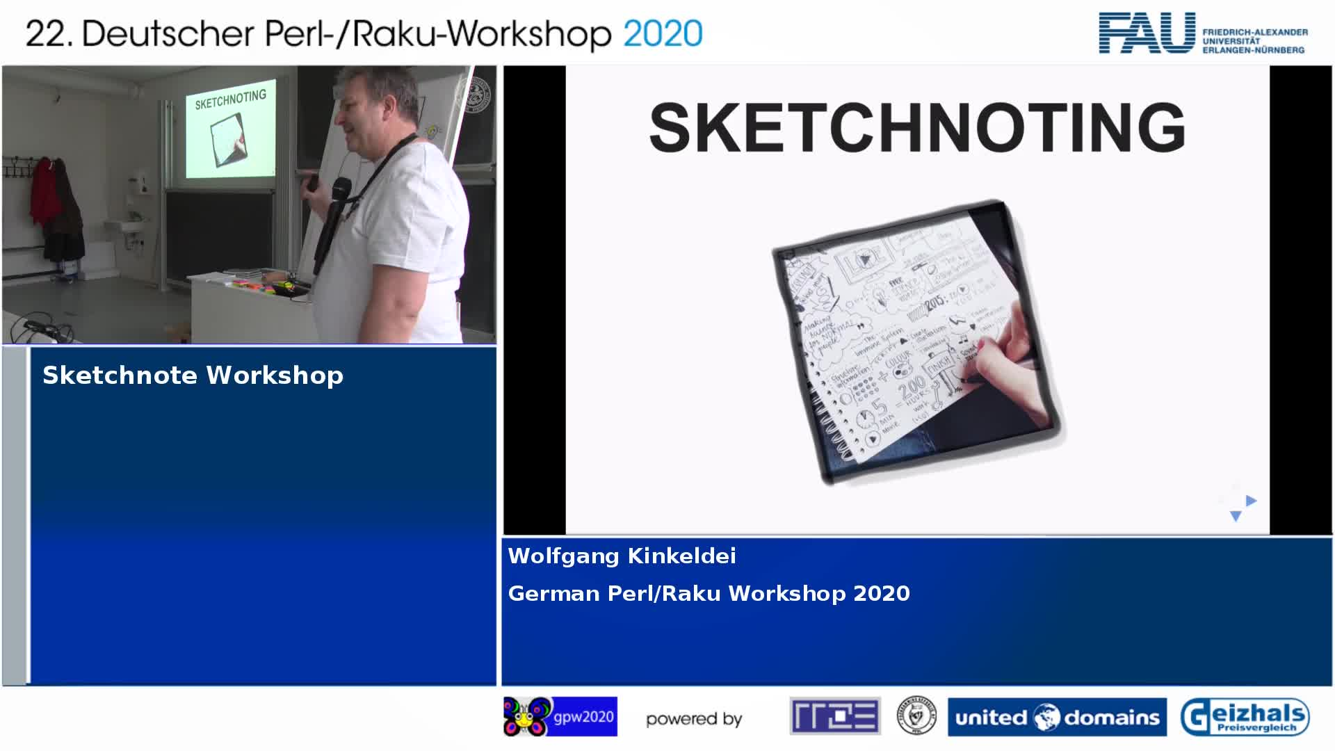 Sketchnote Workshop preview image