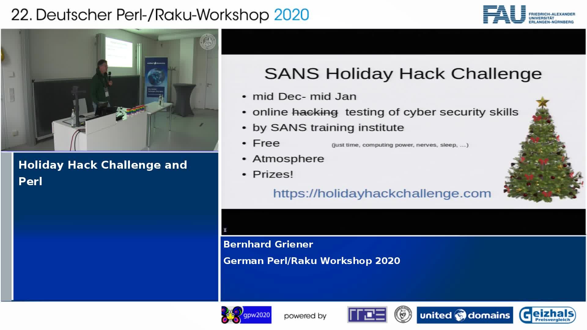 Holiday Hack Challenge and Perl preview image