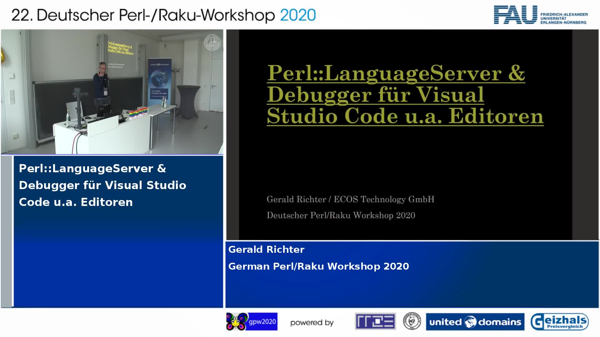 Perl::LanguageServer und Debugger für Visual Studio Code u.a. Editoren preview image