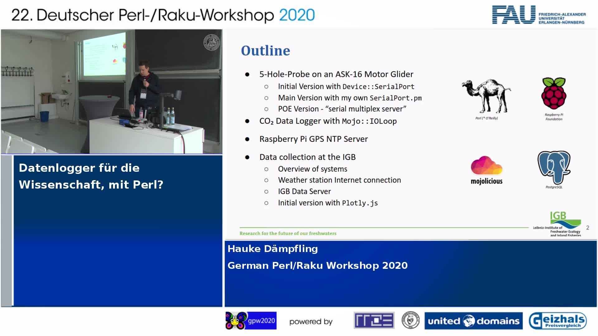 Datenlogger für die Wissenschaft, mit Perl preview image