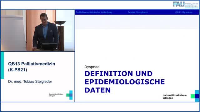 QB13 Palliativmedizin - Luftnot, Definition, Epidemiologie und Pathogenese preview image