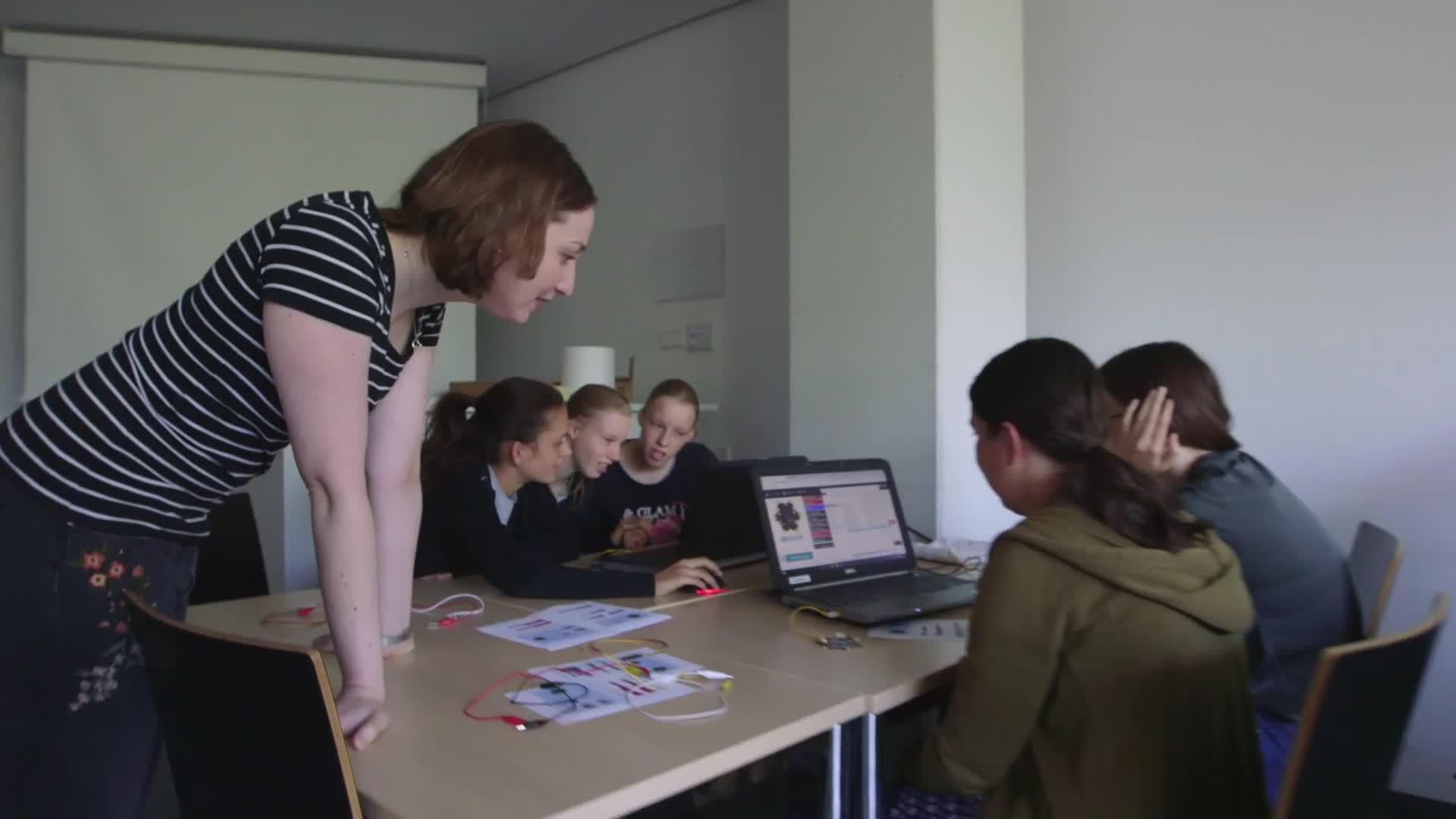 Wir machen Kleidung smart - das Mädchen-und-Technik Praktikum preview image