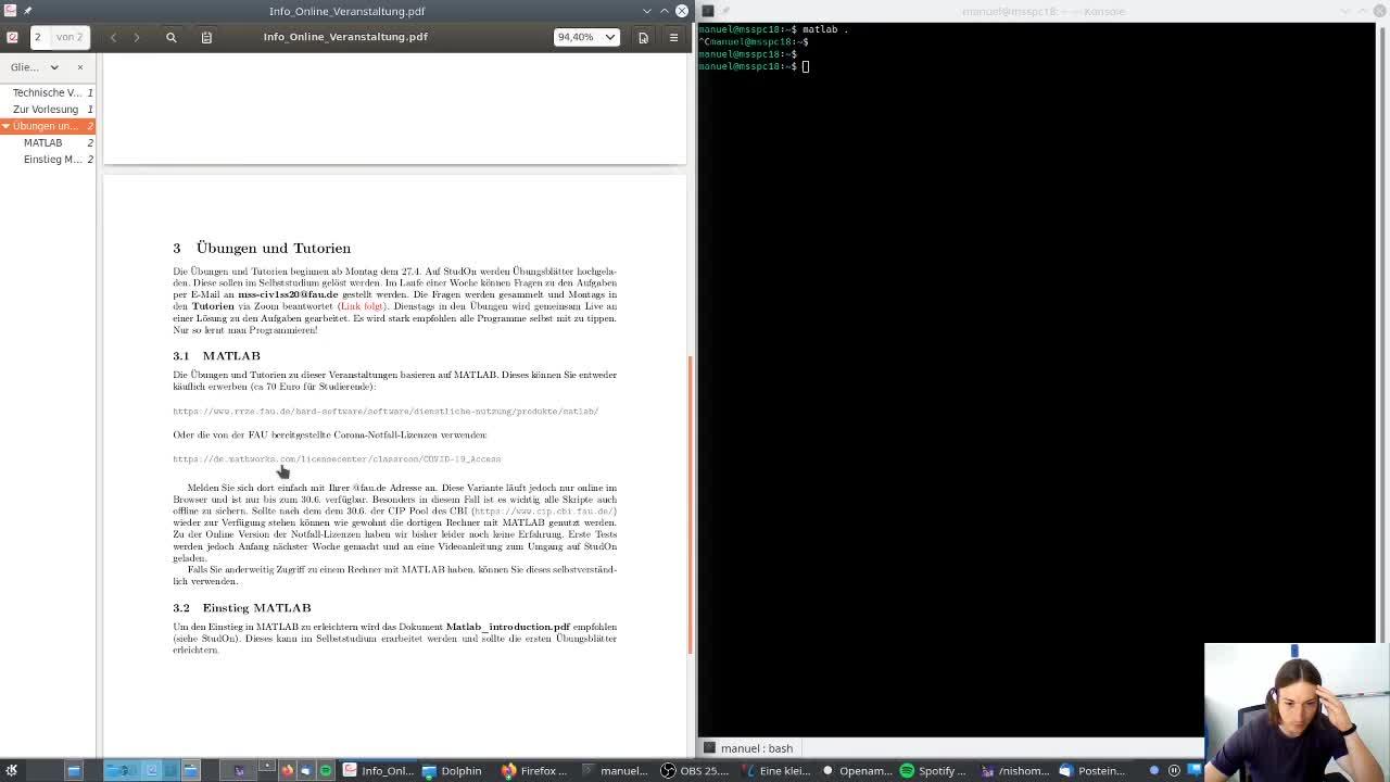 CIV - Übungen & Tutorien preview image