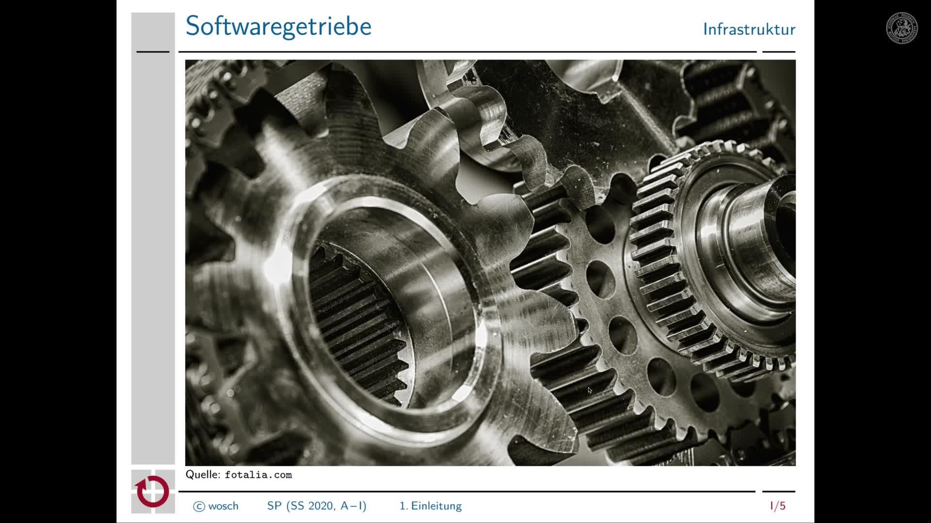 1.2 Organisation: Einleitung preview image
