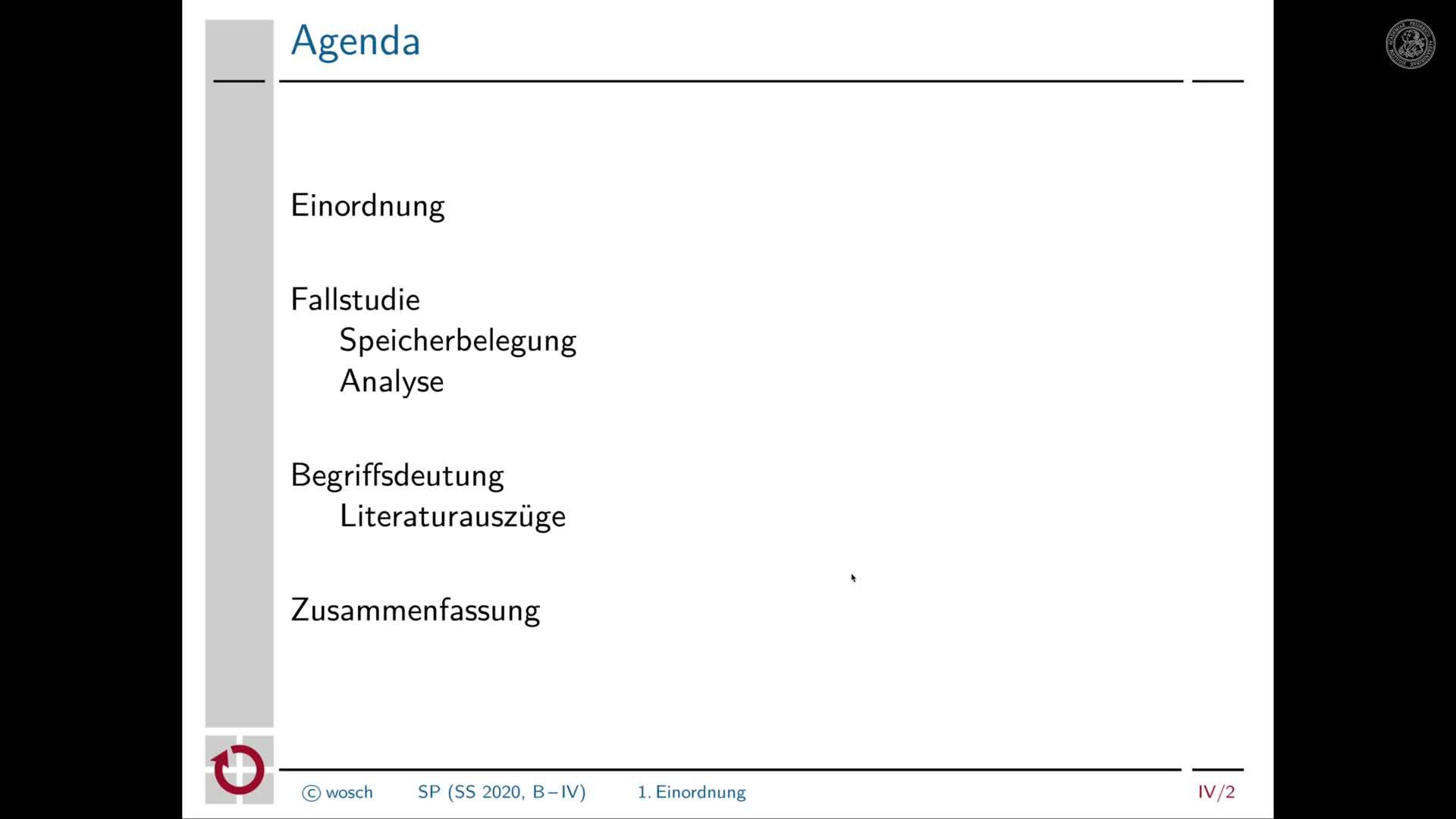 4.1 Einleitung: Begrüßung und Tagesordnung preview image