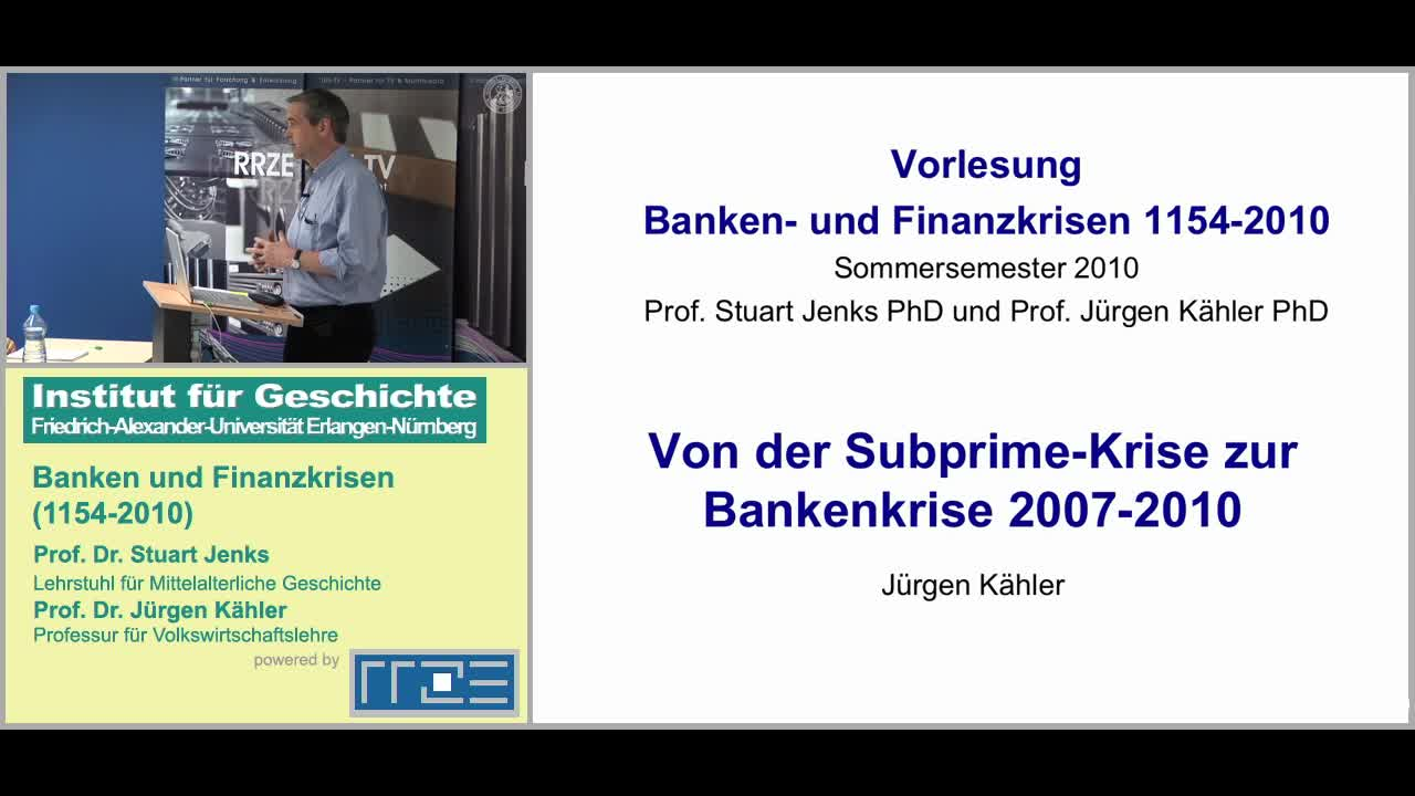 Banken und die Finanzkrise (1154-2010) preview image
