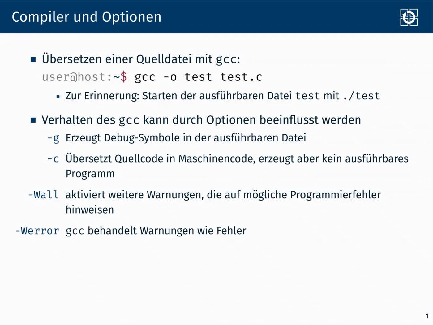 1.1 Dynamische Speicherverwaltung: Übersetzen preview image
