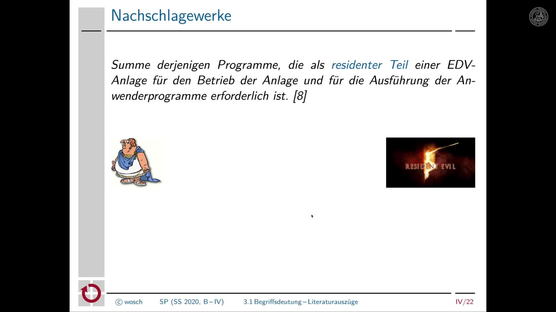 4.2 Einleitung: Deutung des Begriffs Betriebssystem preview image