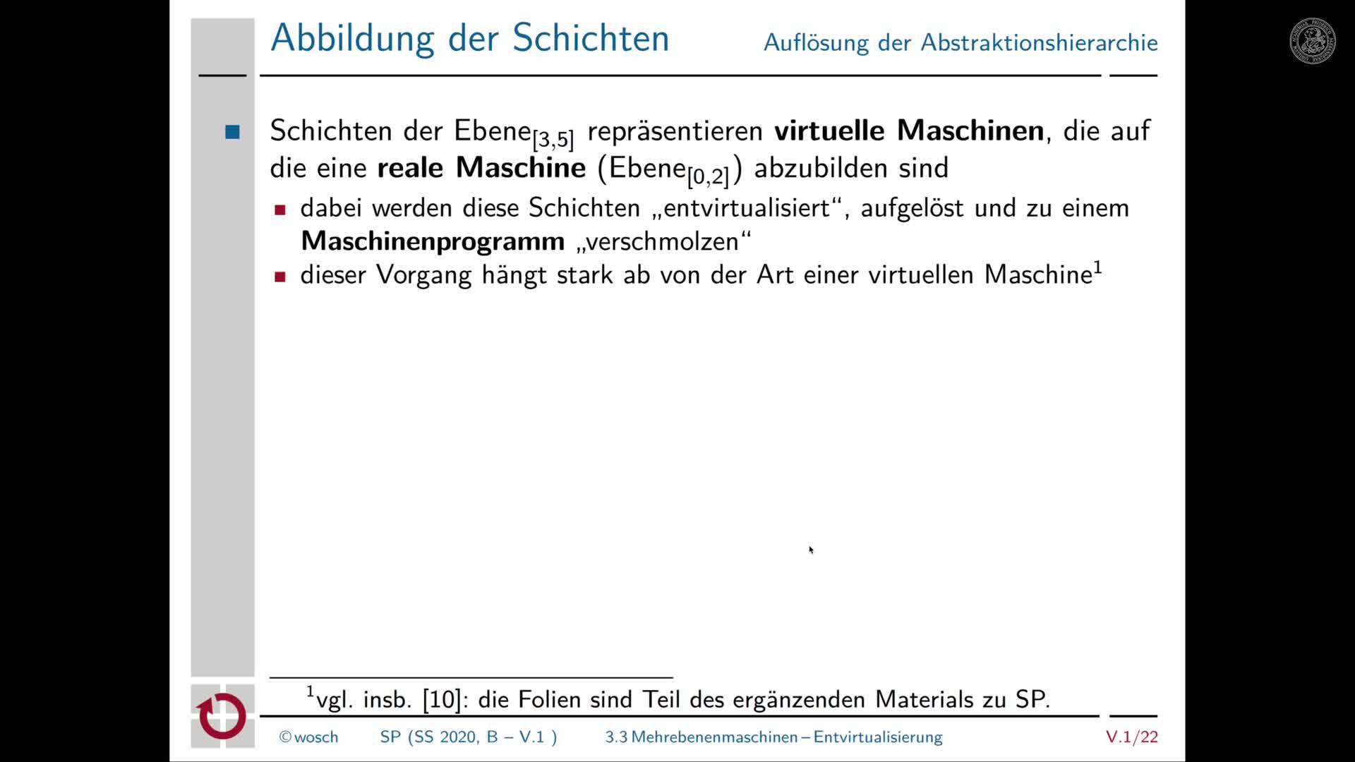 5.1.5 Rechnerorganisation: Entvirtualisierung und Ausnahmen preview image