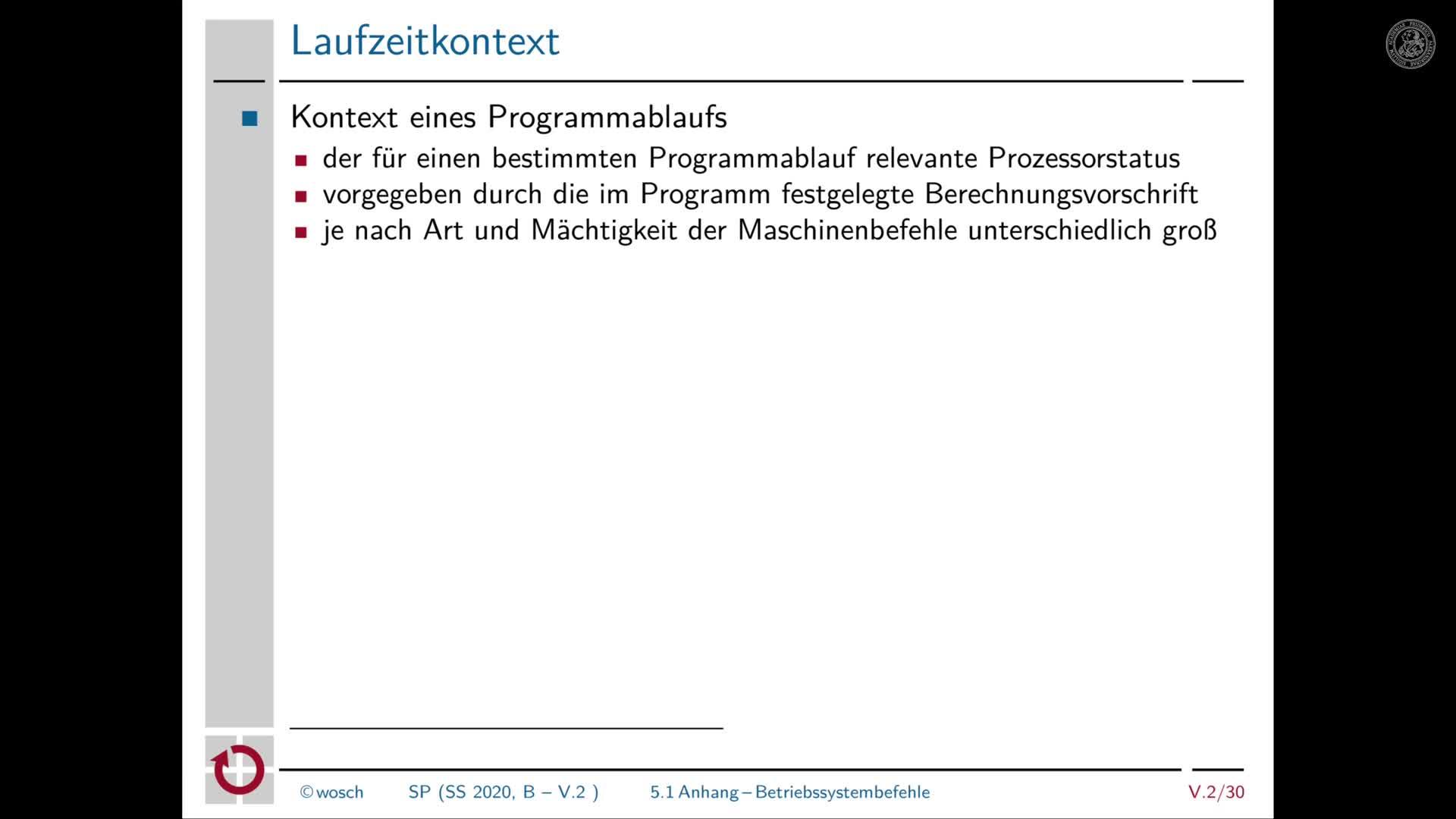 5.2.6 Rechnerorganisation: Anhang zu Betriebssystembefehlen preview image
