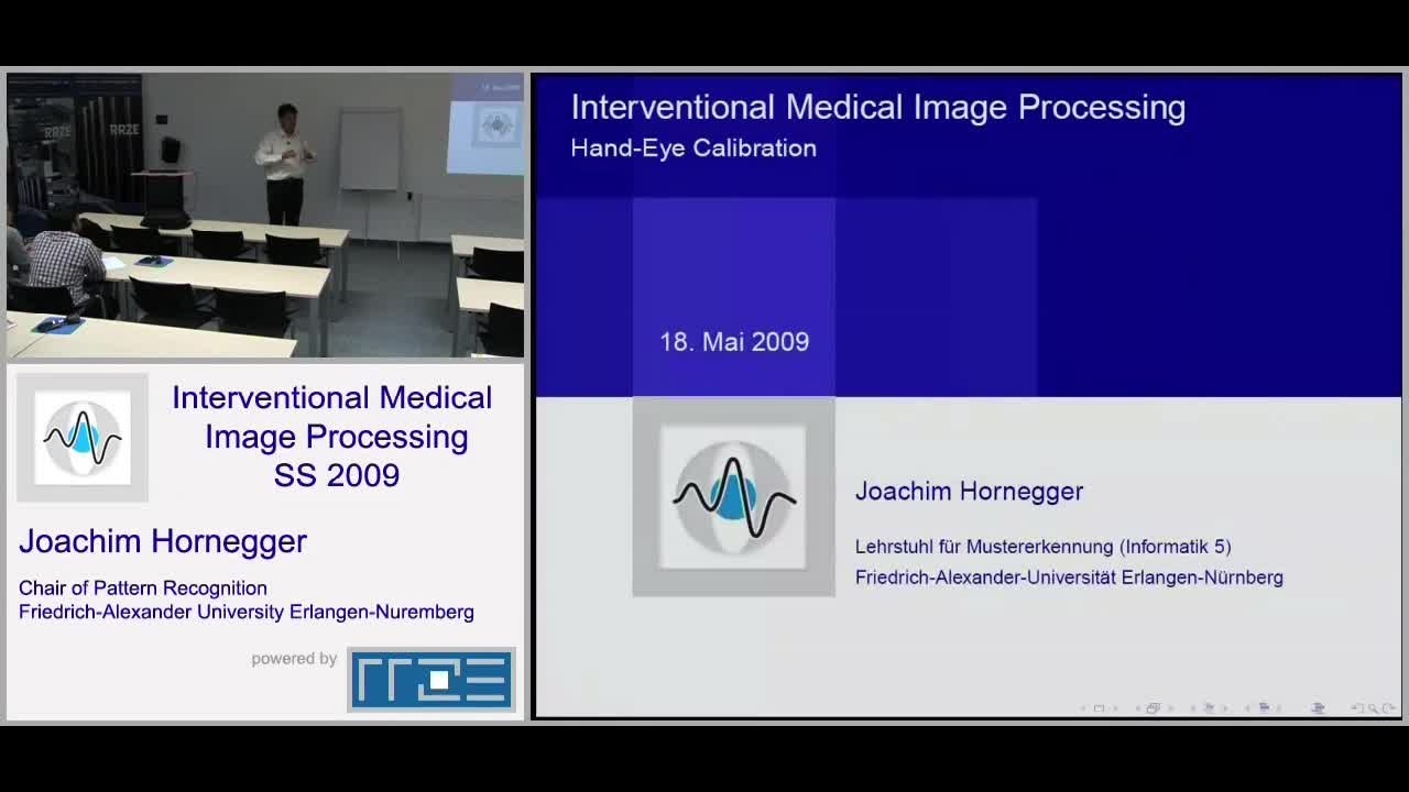 Interventional Medical Image Processing (früher Medizinische Bildverarbeitung 2) (IMIP) preview image