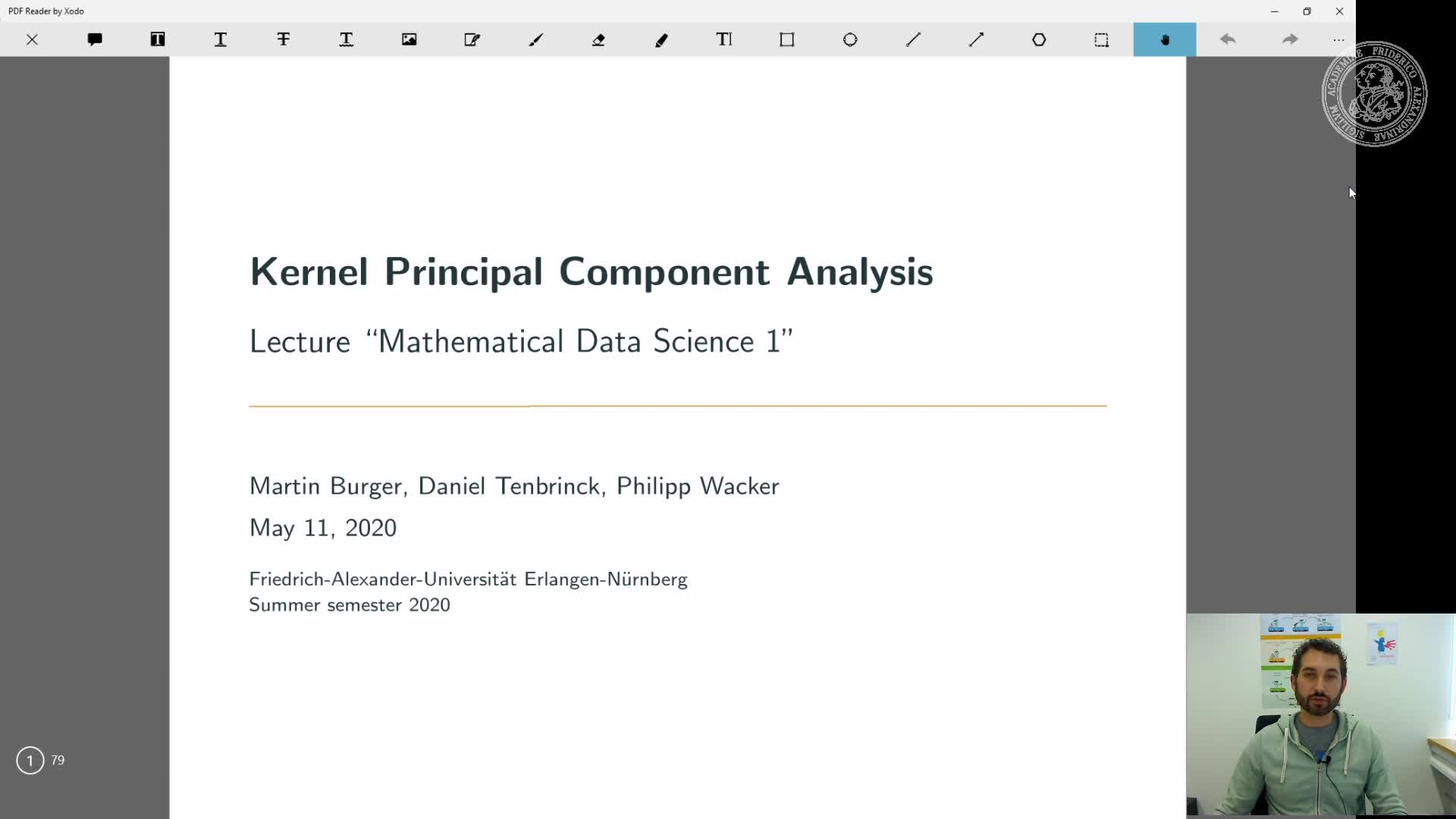 Kernel Principal Component Analysis preview image