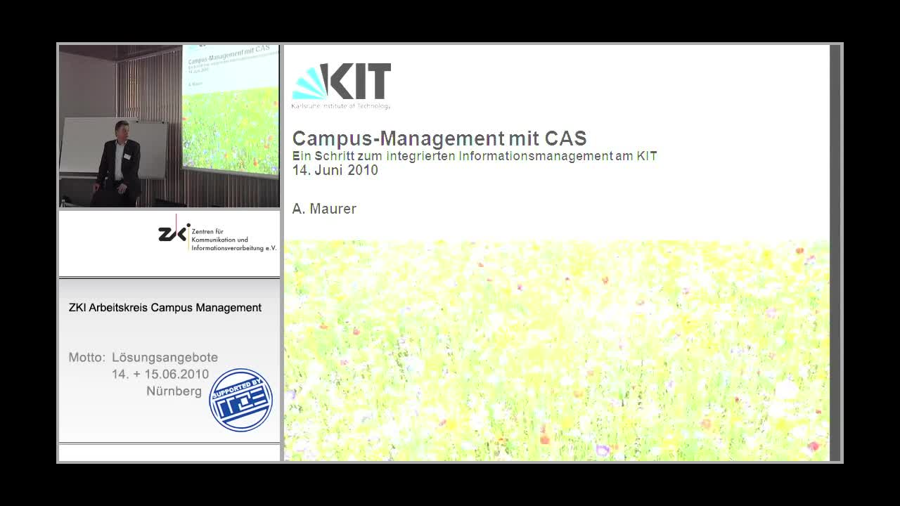 Campus-Management mit CAS - Ein Schritt zum integrierten Informationsmanagement am KIT preview image