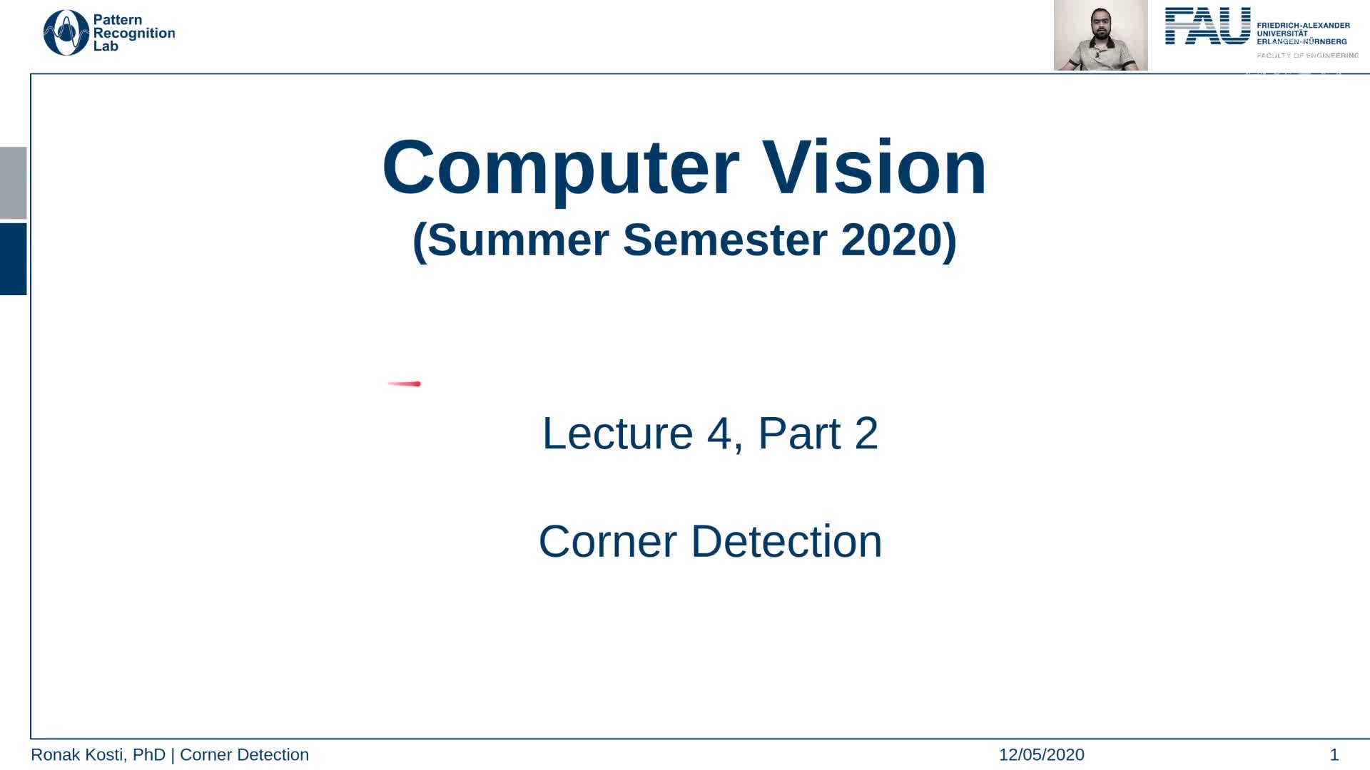 Corner Detection (Lecture 4, Part 2) preview image