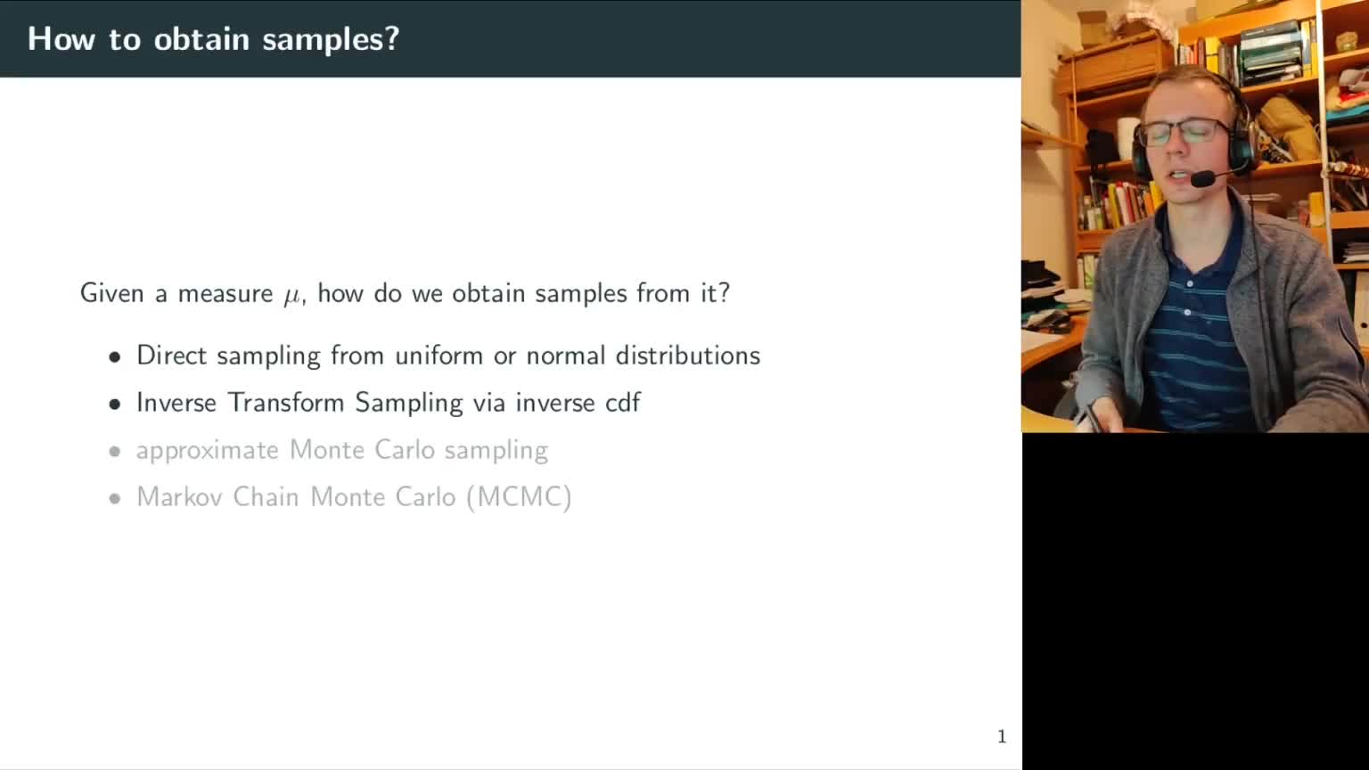 Obtaining samples directly preview image