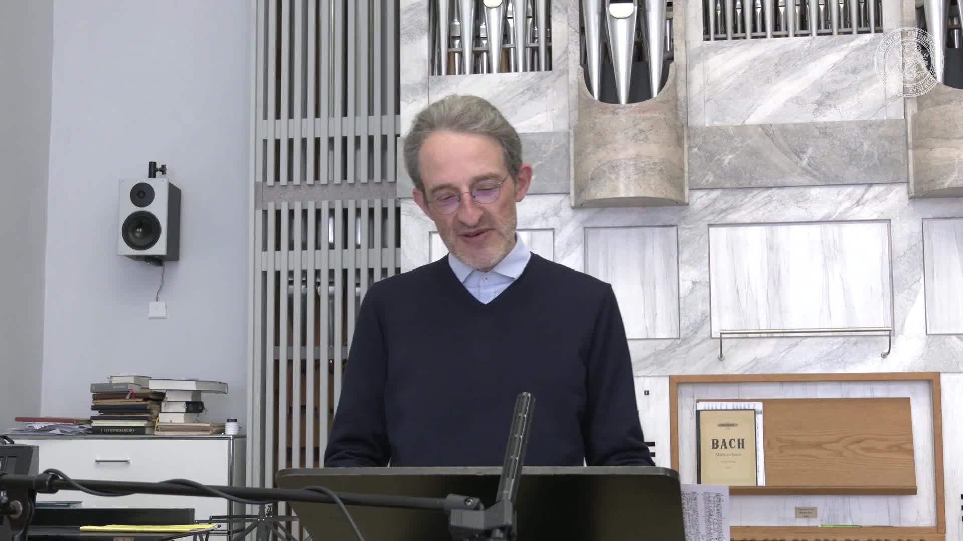 """2D - """"Wenn ich einmal soll scheiden"""" - P.Gerhardt-Choräle in Bachs Passionen preview image"""