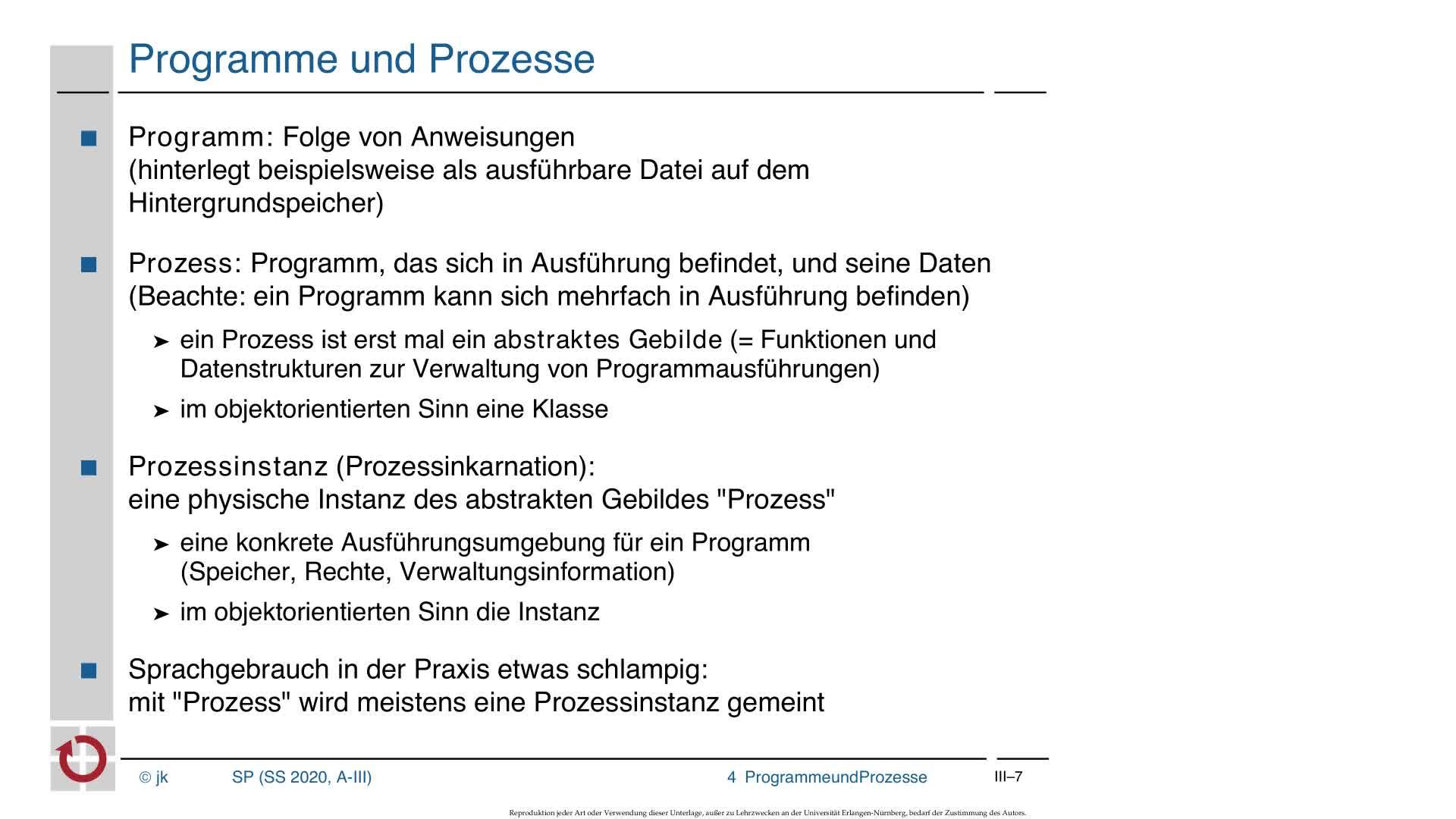 3.2 Ausführung von Programmen: Programme und Prozesse laden preview image