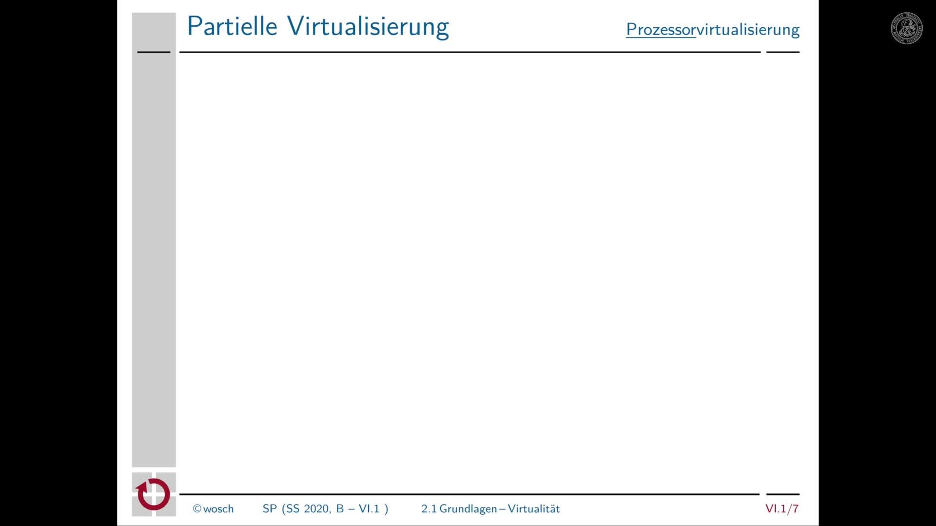 6.1.3 Prozesse: Virtualität und Betriebsmittel preview image