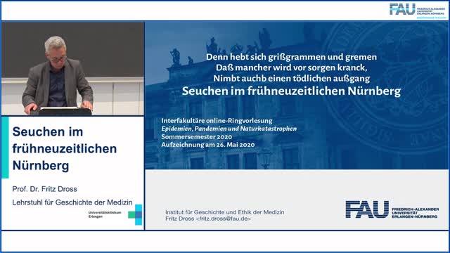 Seuchen im frühneuzeitlichen Nürnberg preview image