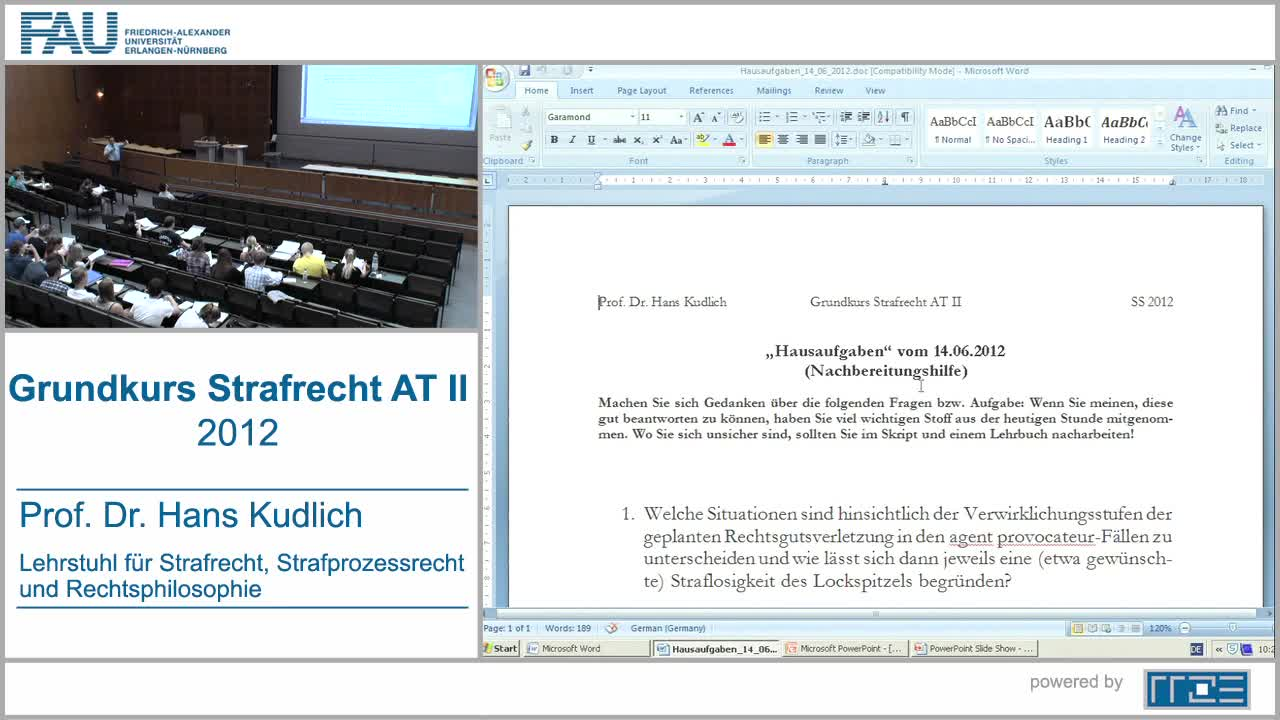 Grundkurs Strafrecht AT II preview image