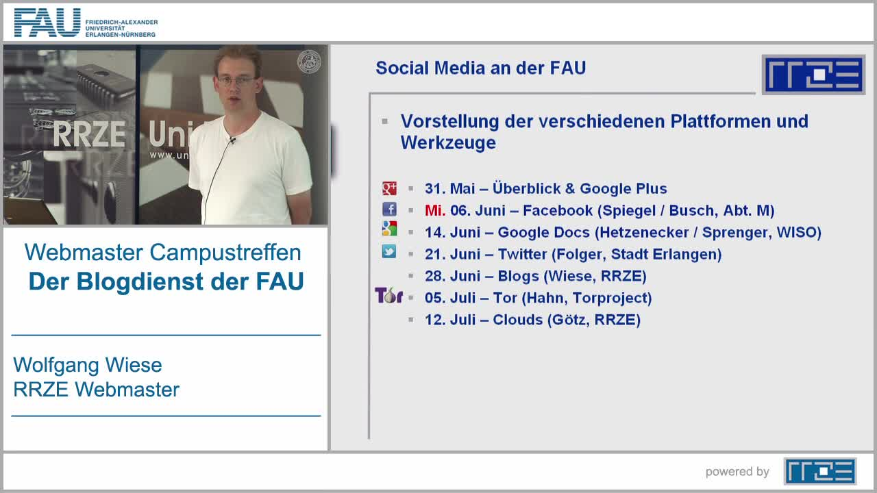 Der Blogdienst der FAU preview image