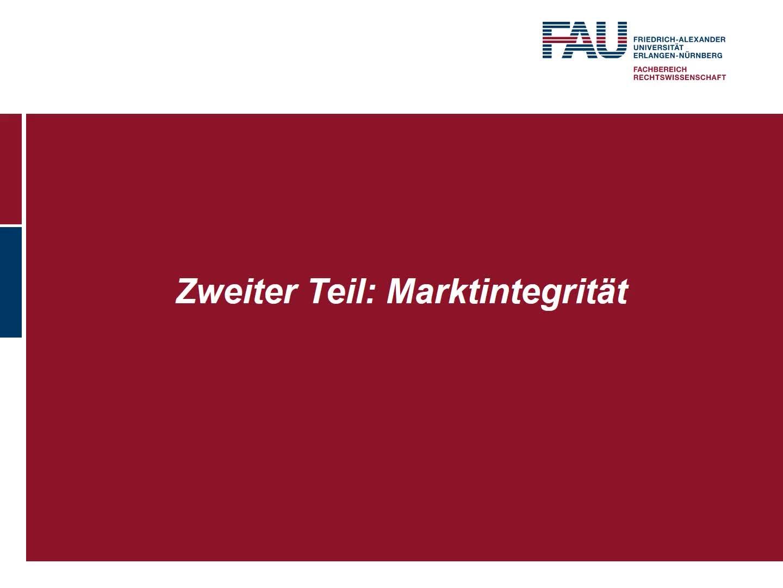 Kurze Einleitung zur MAR, Das Insiderhandelsverbot – Regulative Leitidee und Rechtsgrundlagen, Gegenstand des Insiderhandelsverbots preview image