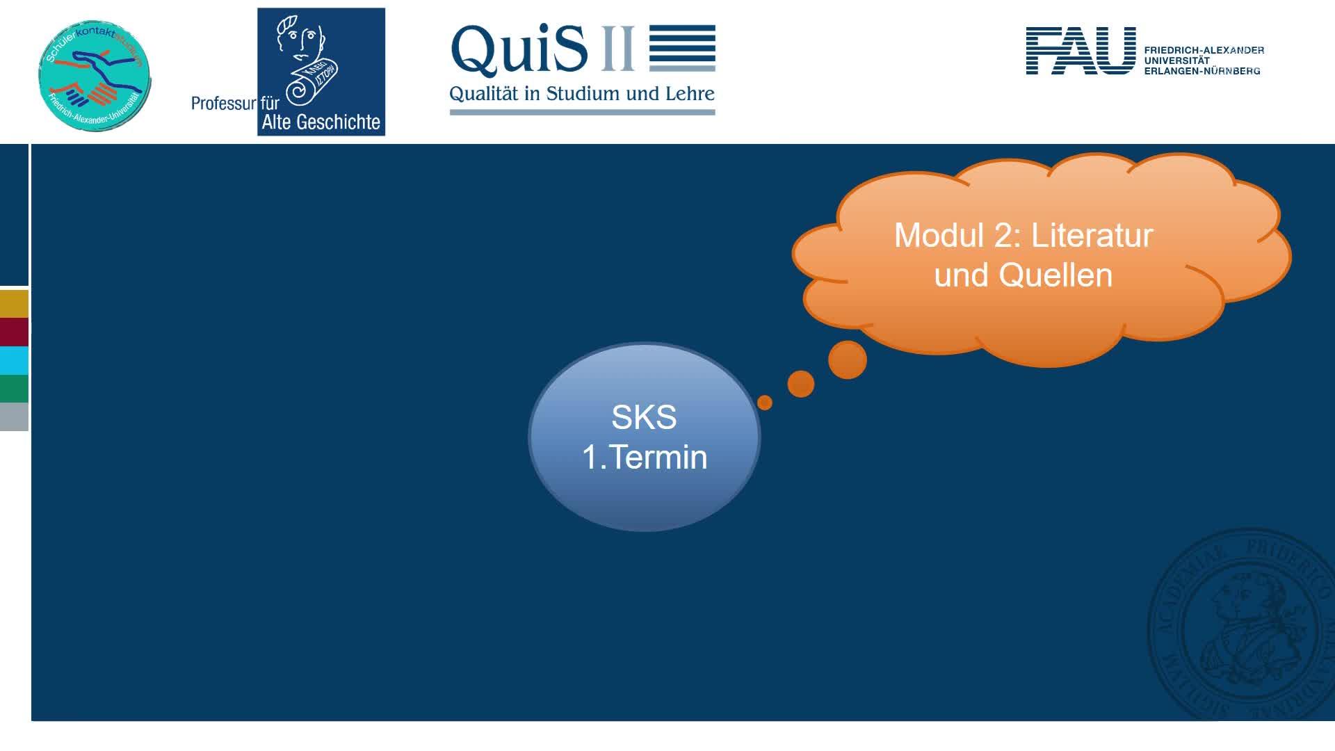 Das SKS: Informationen zum 1.Termin preview image
