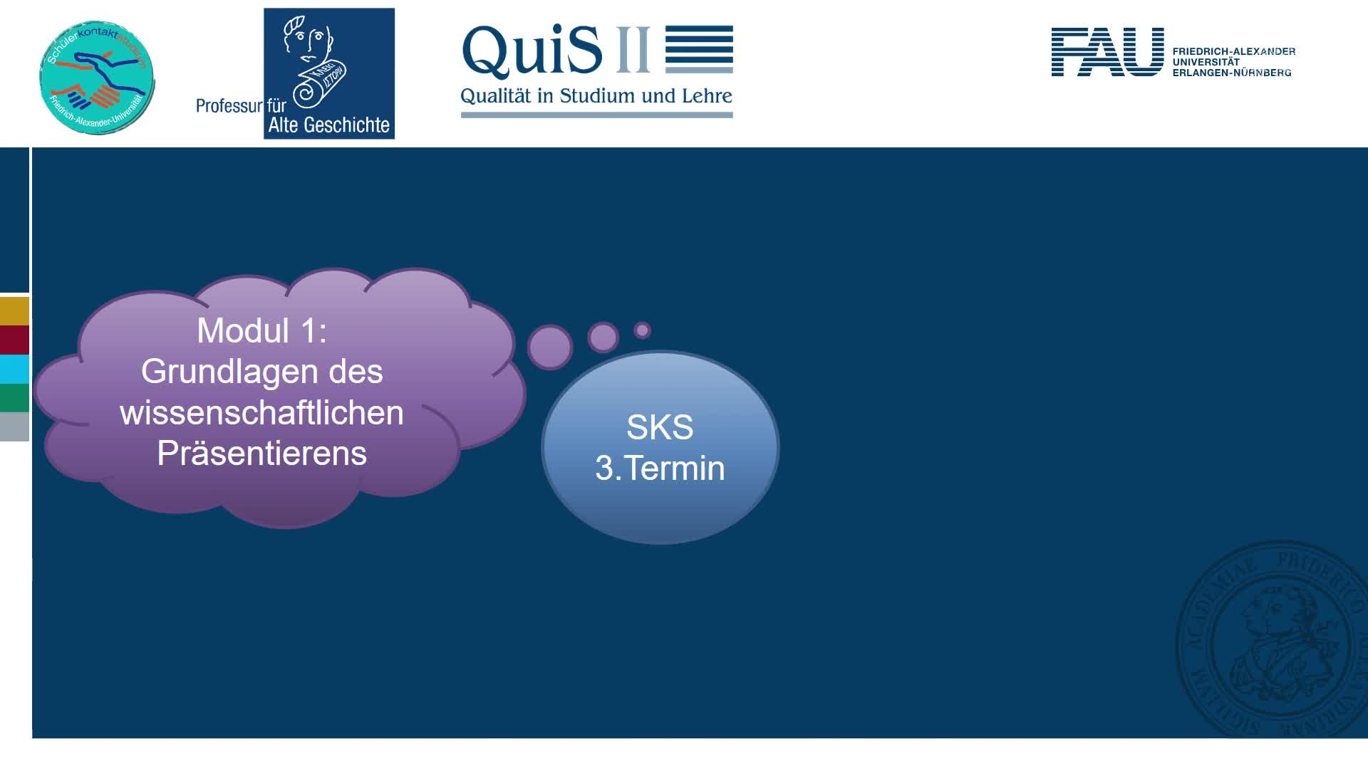 Das SKS: Informationen zum 3. Termin preview image