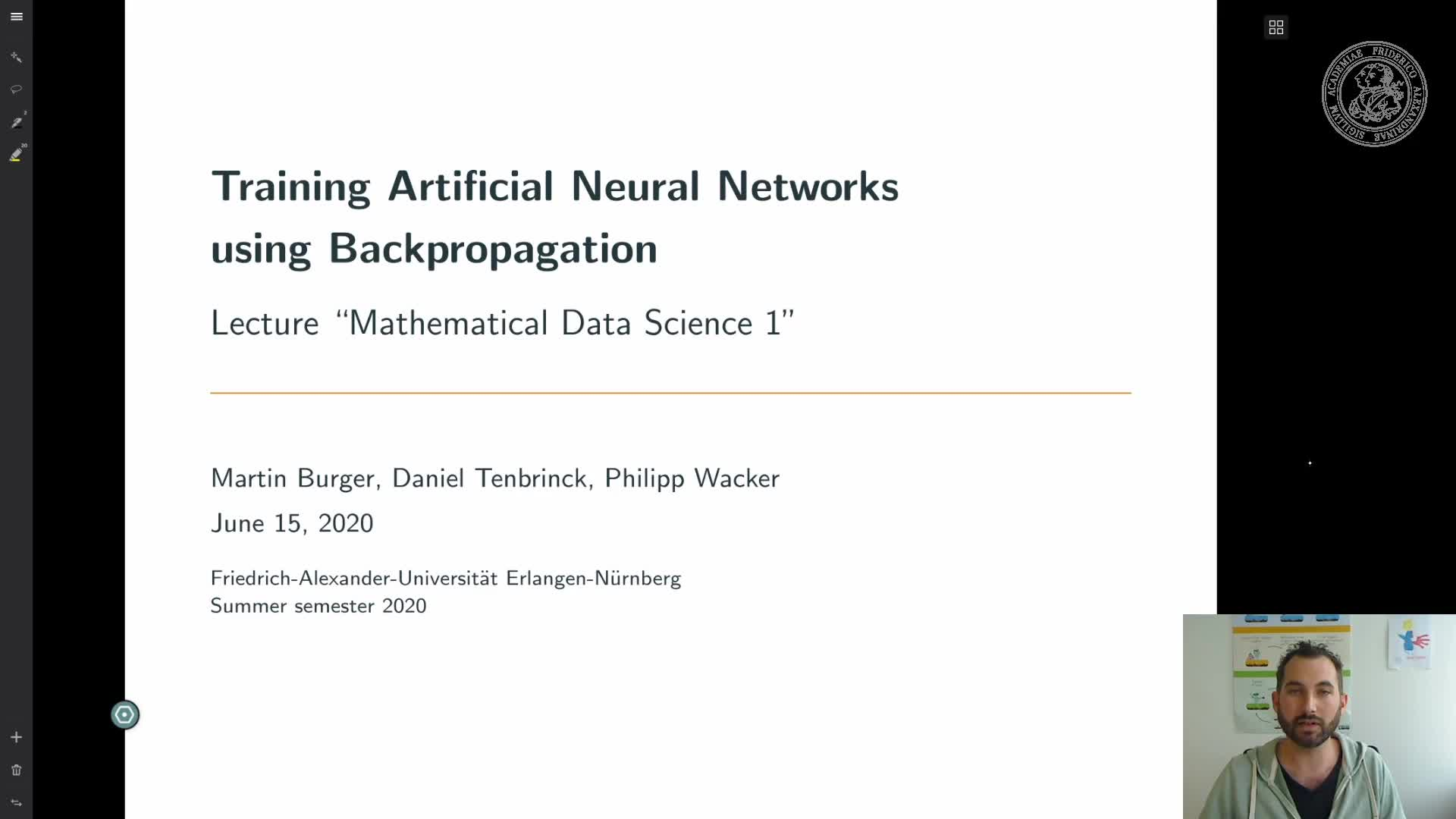 Training Artificial Neural Networks using Backpropagation preview image