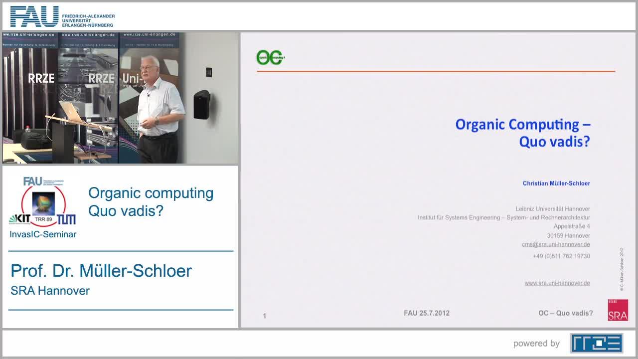 Organic Computing - Quo vadis? preview image