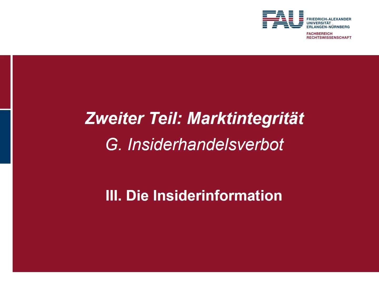 Die Insiderinformation, Art. 7 MAR (2), Verbotsadressaten, Der Verbotstatbestand des Art 14 MAR, Kontrolle und Sanktion preview image