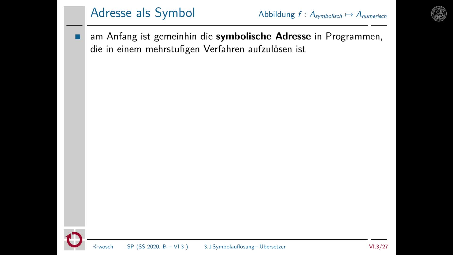 6.3.6 Adressbindung: Symbolauflösung preview image