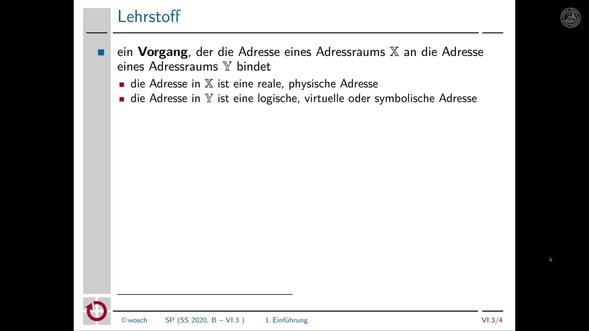 6.3.2 Adressbindung: Einführung preview image