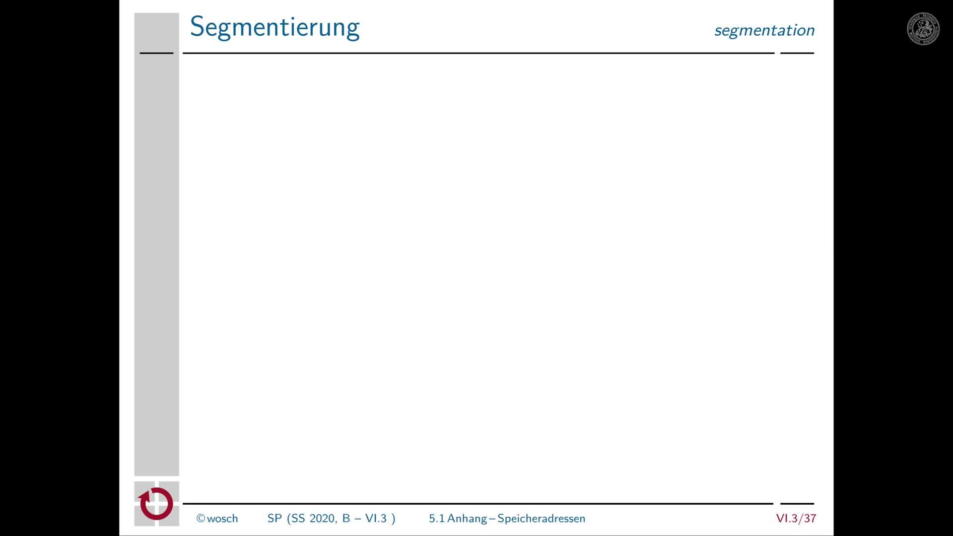 6.3.8 Adressbindung: Anhang zur Segmentierung preview image