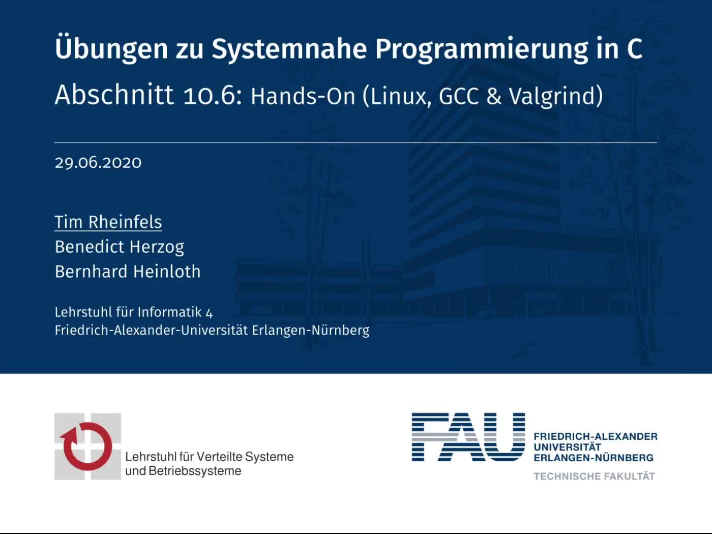 10.6: Hands-On (Linux, GCC & Valgrind) preview image