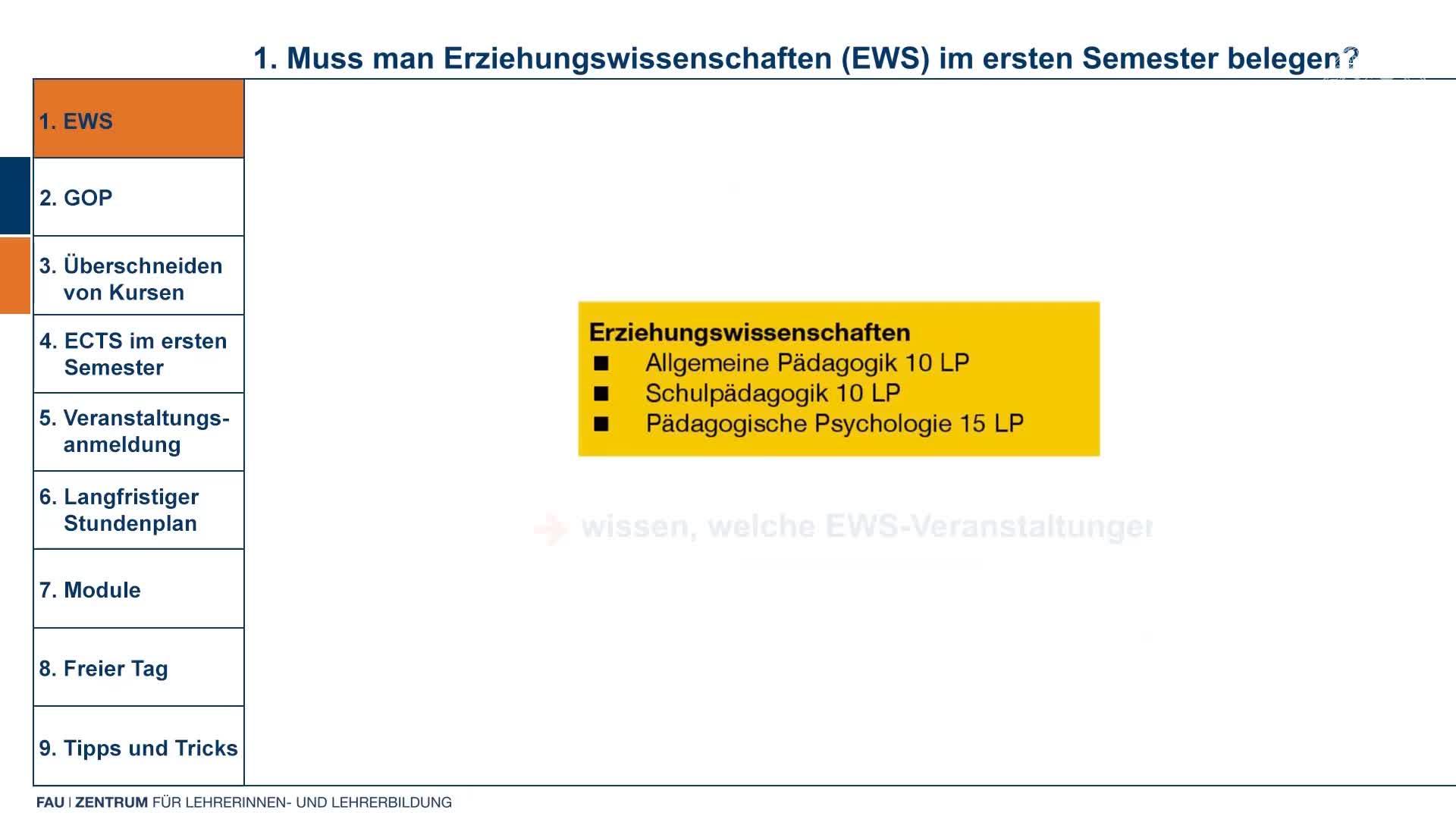 Lehramt   Gymnasium   Realschule   Stundenplan III   ZfL preview image