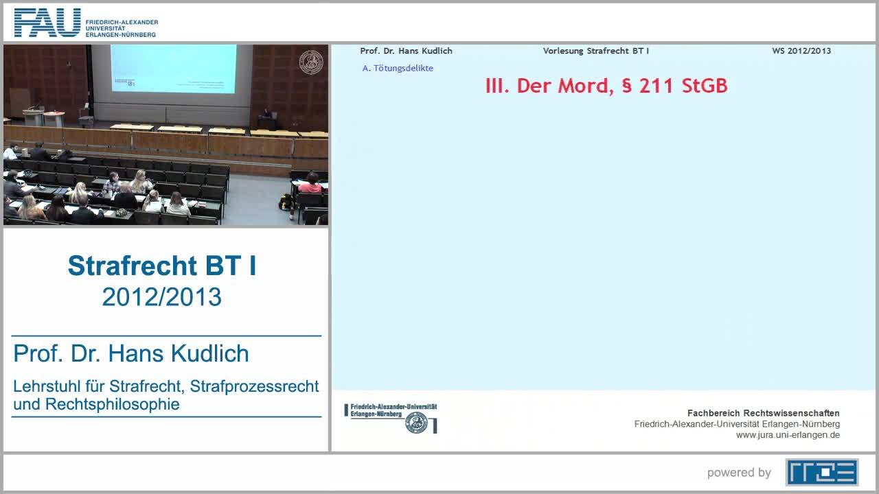 Strafrecht BT I preview image