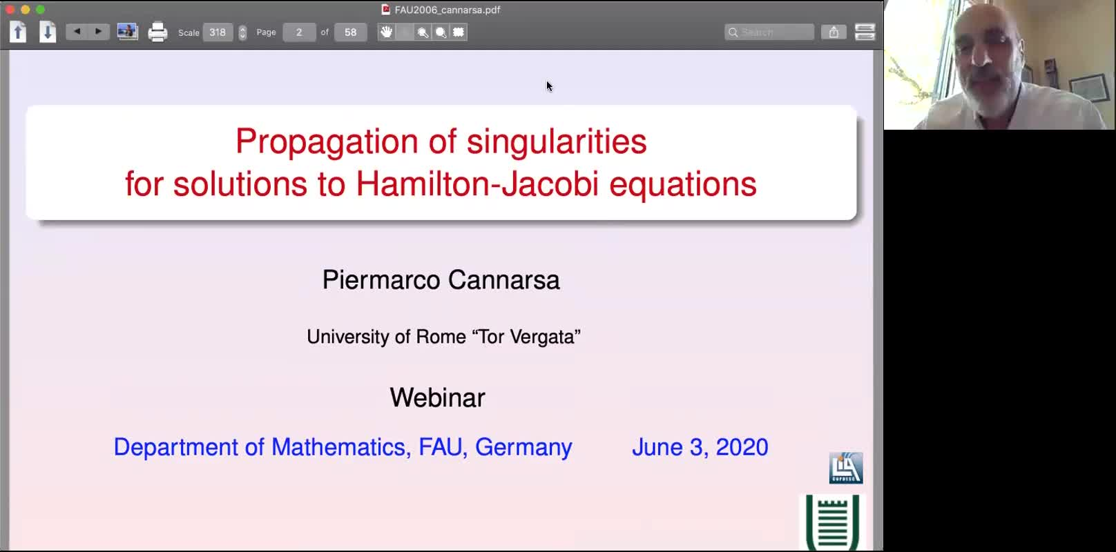 Propagation of Singularities for Solutions to Hamilton-Jacobi Equations preview image