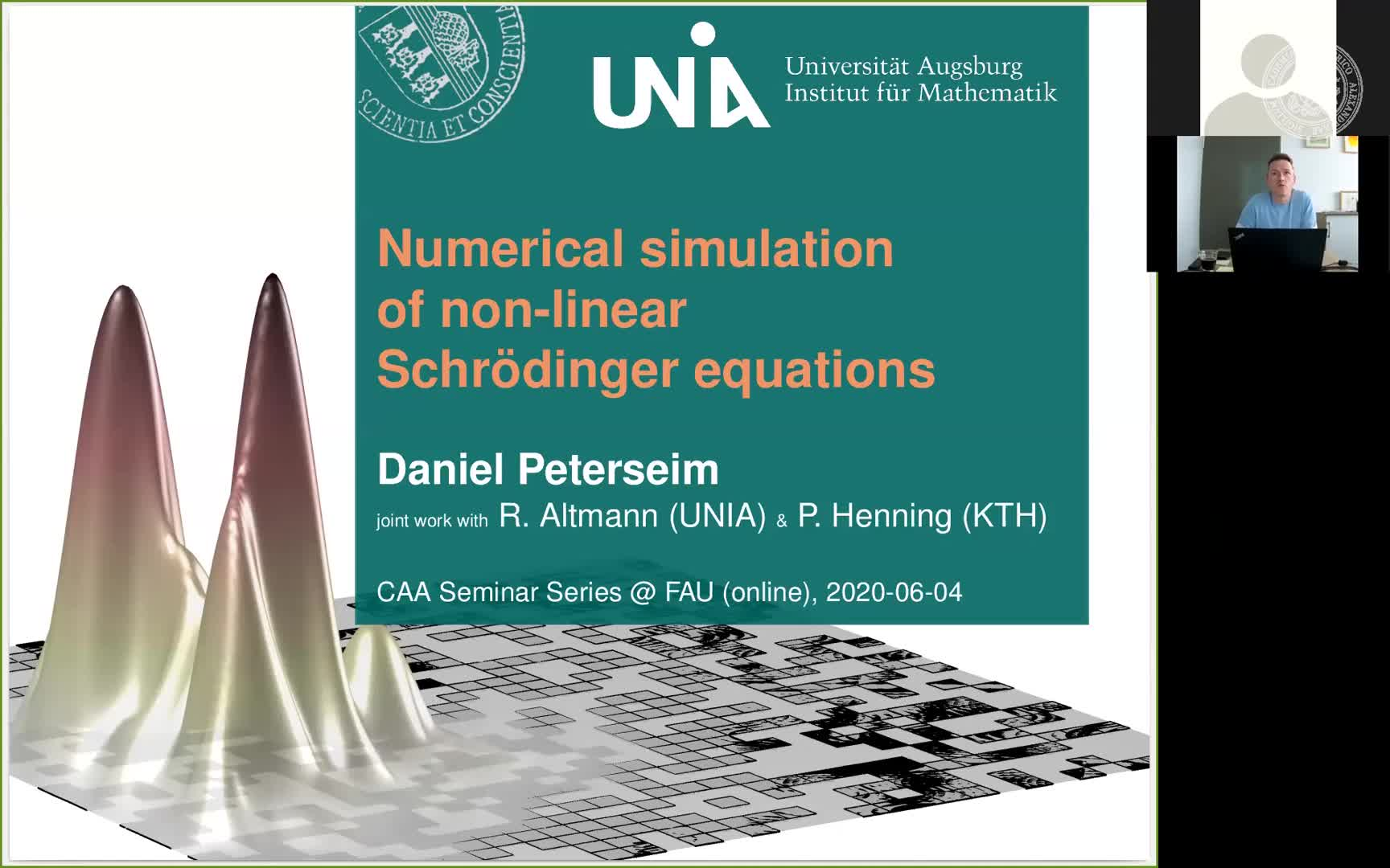 Numerical simulation of nonlinear Schrödinger equations preview image
