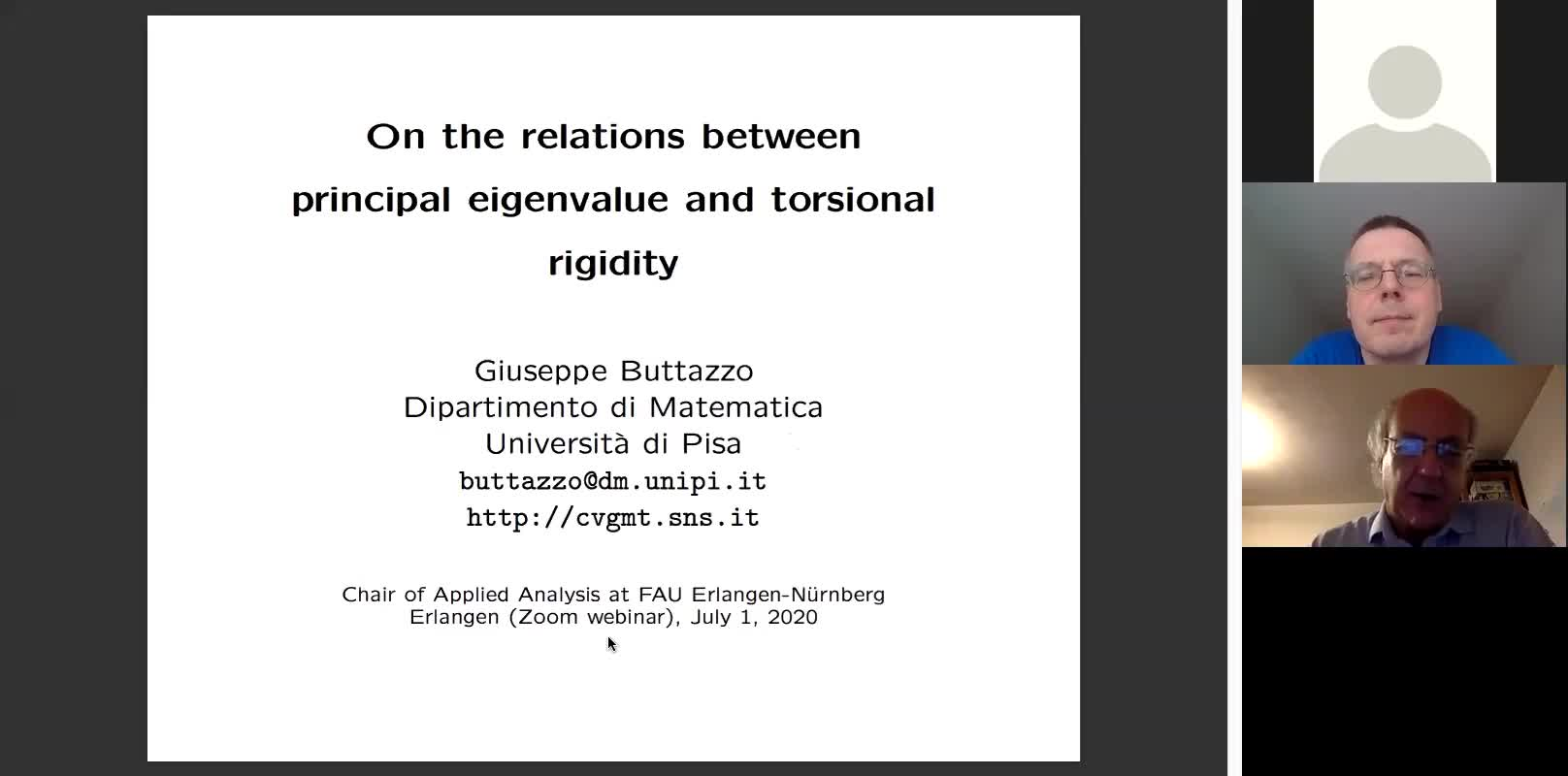 On the relations between principal eigenvalue and torsional rigidity preview image