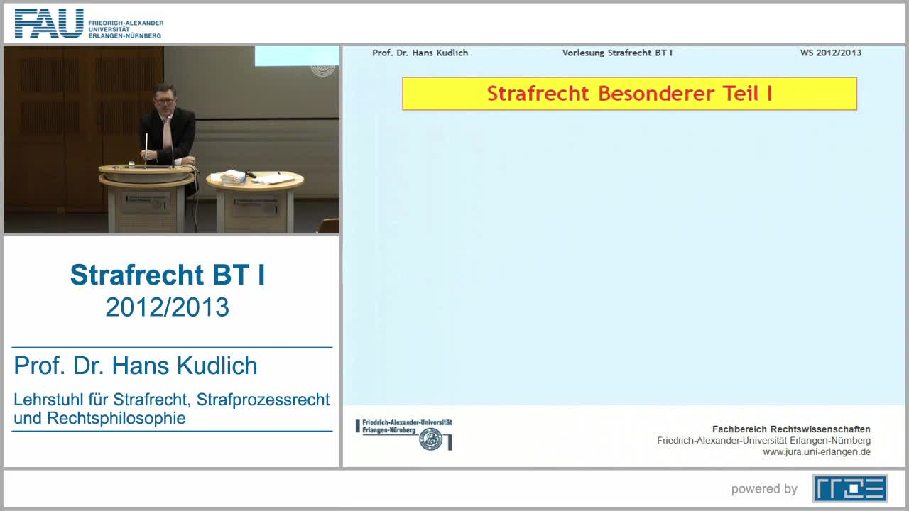 Strafrecht BT I preview image