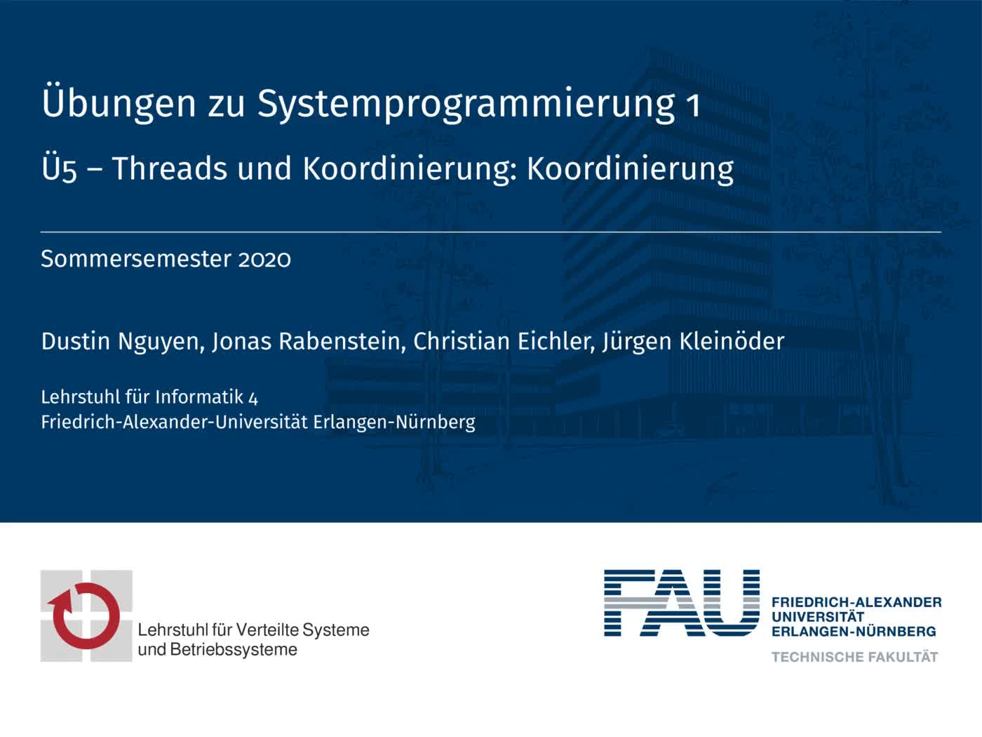 5.2 Threads: Koordinierung preview image
