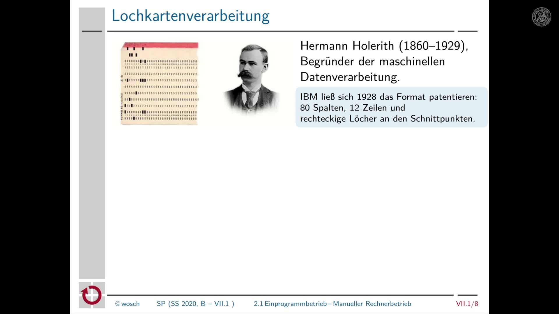 7.1.3 Stapelverarbeitung: Manueller Rechenbetrieb preview image