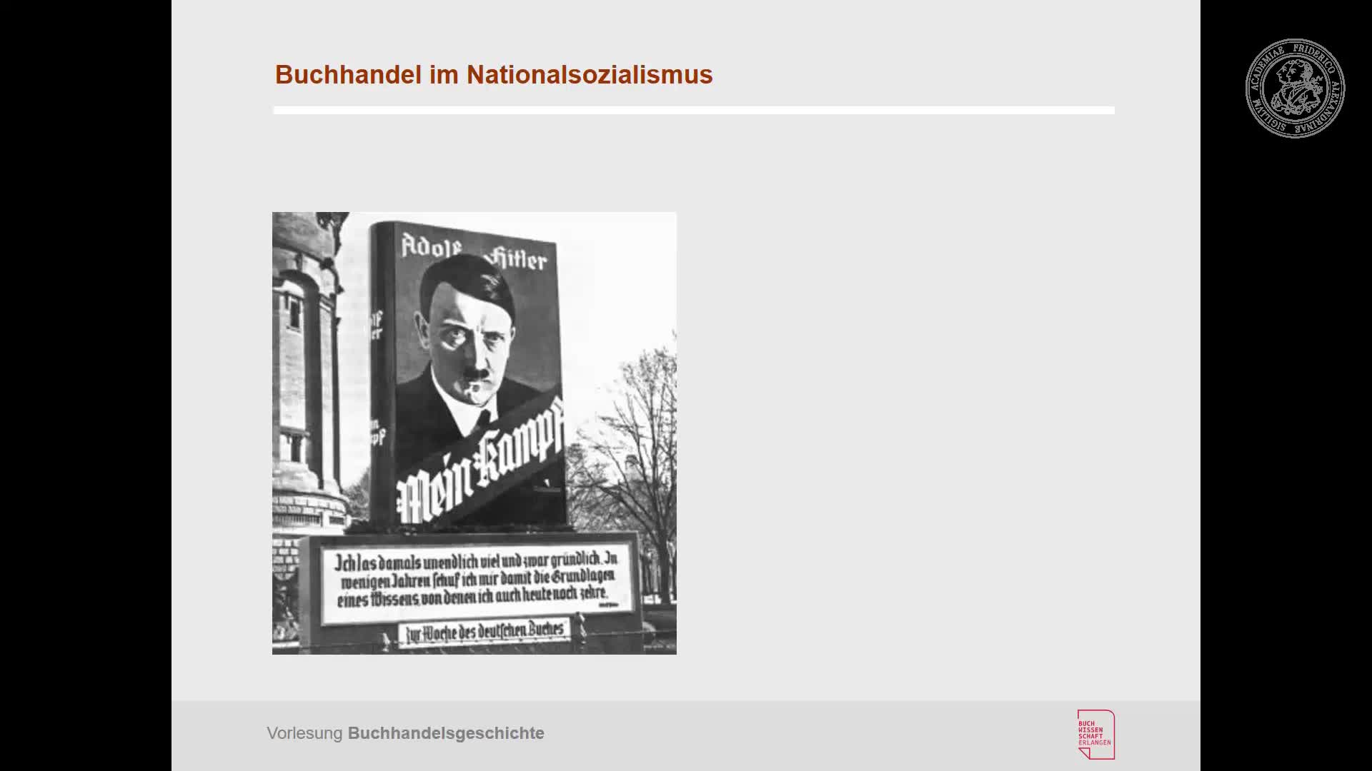 Buchhandel im Nationalsozialismus preview image