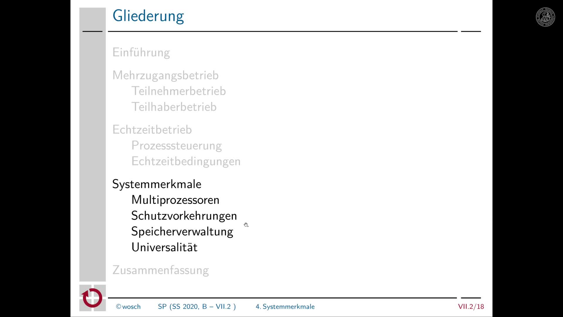 7.2.5 Dialogverarbeitung: Multiprozessorsysteme preview image