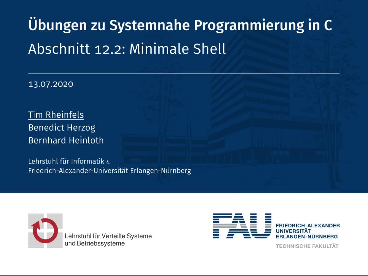 12.2: Minimale Shell preview image
