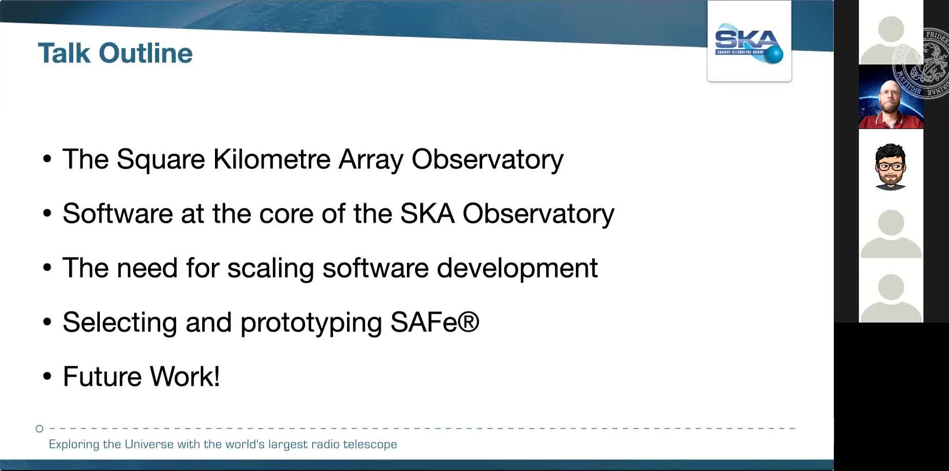 SKA Software Development: Scaling agile software development processes around the world preview image