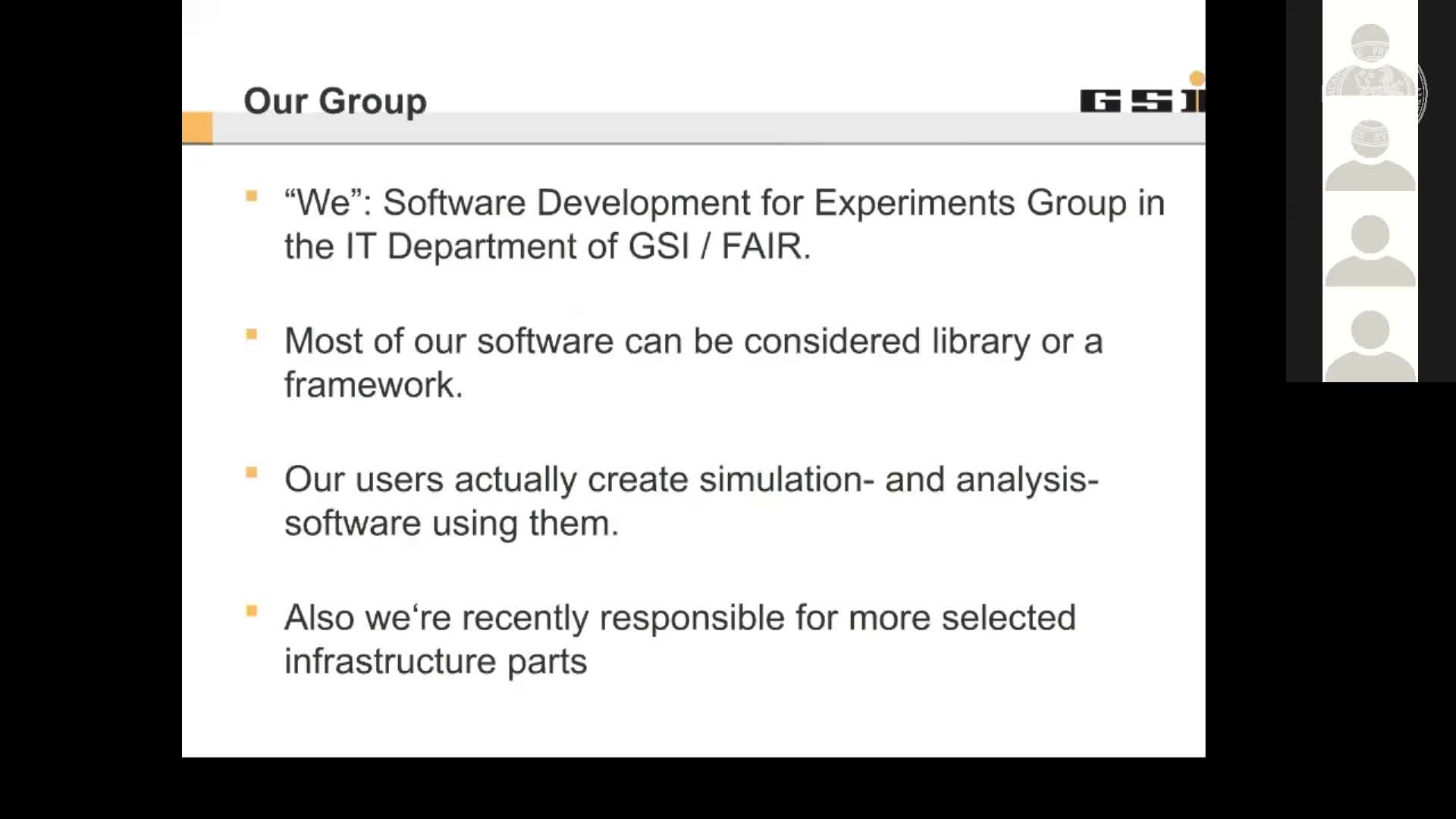 Software Engineering at SDE Group, GSI preview image