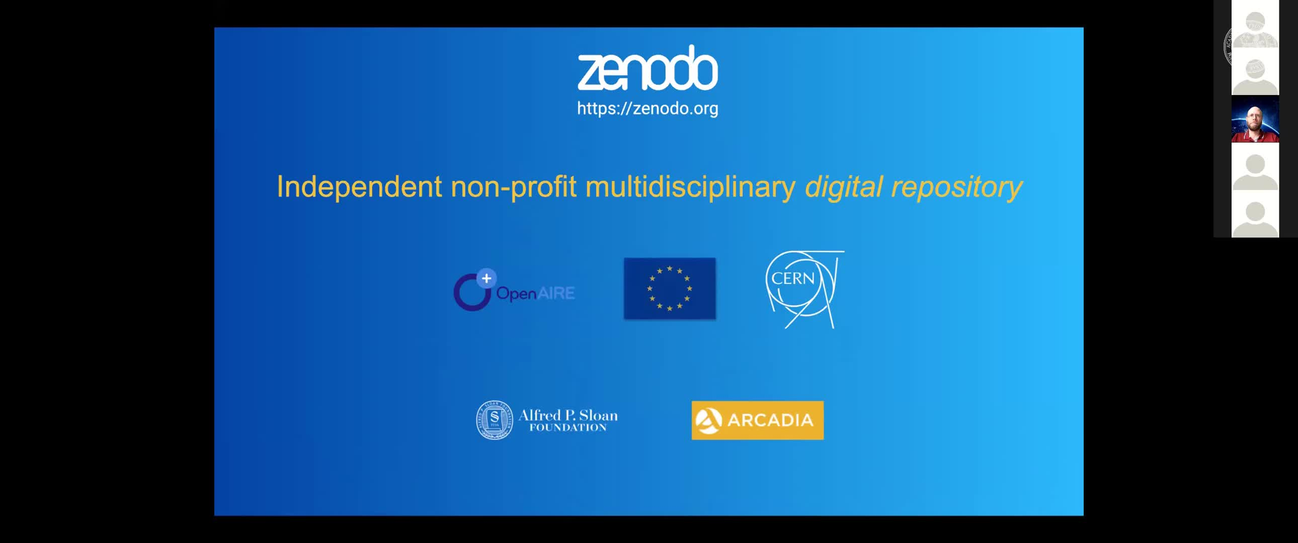 Zenodo - Software Archiving and Metadata Handling preview image